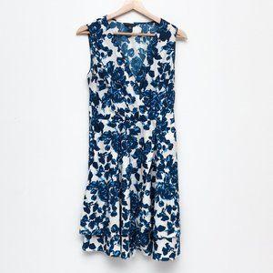 TOMMY HILFIGER | Blue Floral Sleeveless Dress